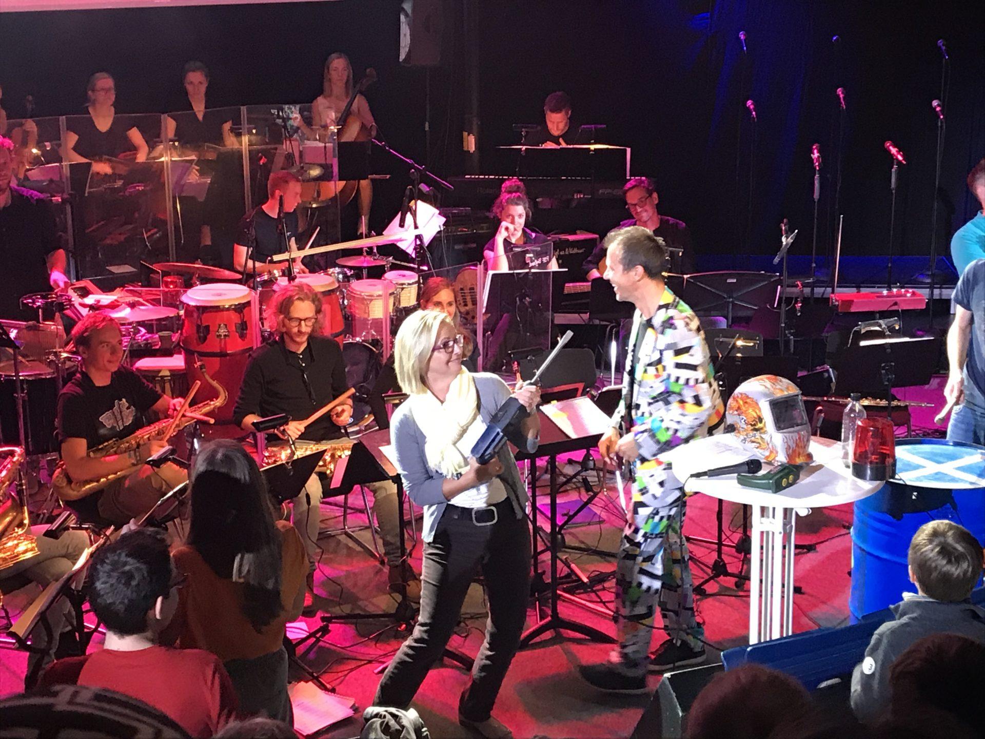 """PSF Bigband Konzert """"Primetime  – Total Seri(e)ös"""""""