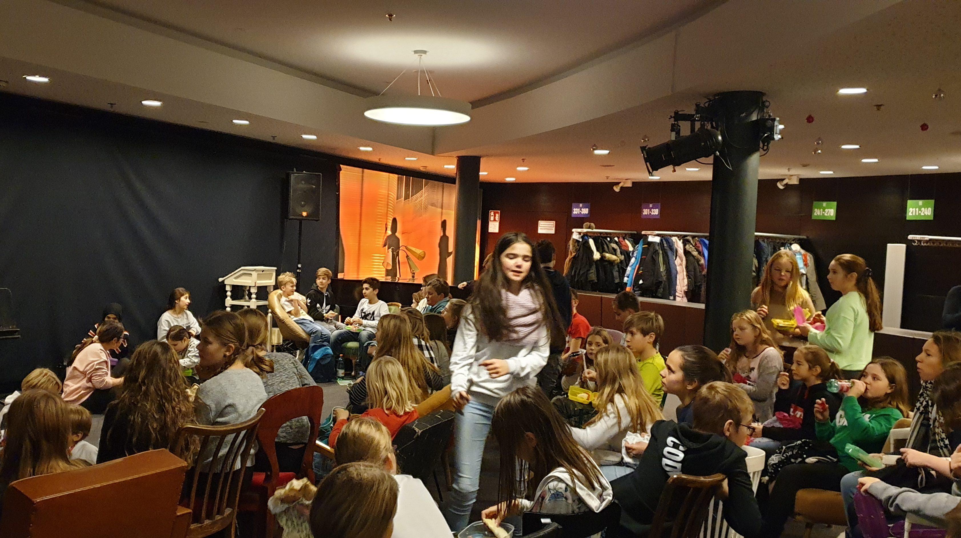 Landestheater – 1.Klassen – Schneekönigin
