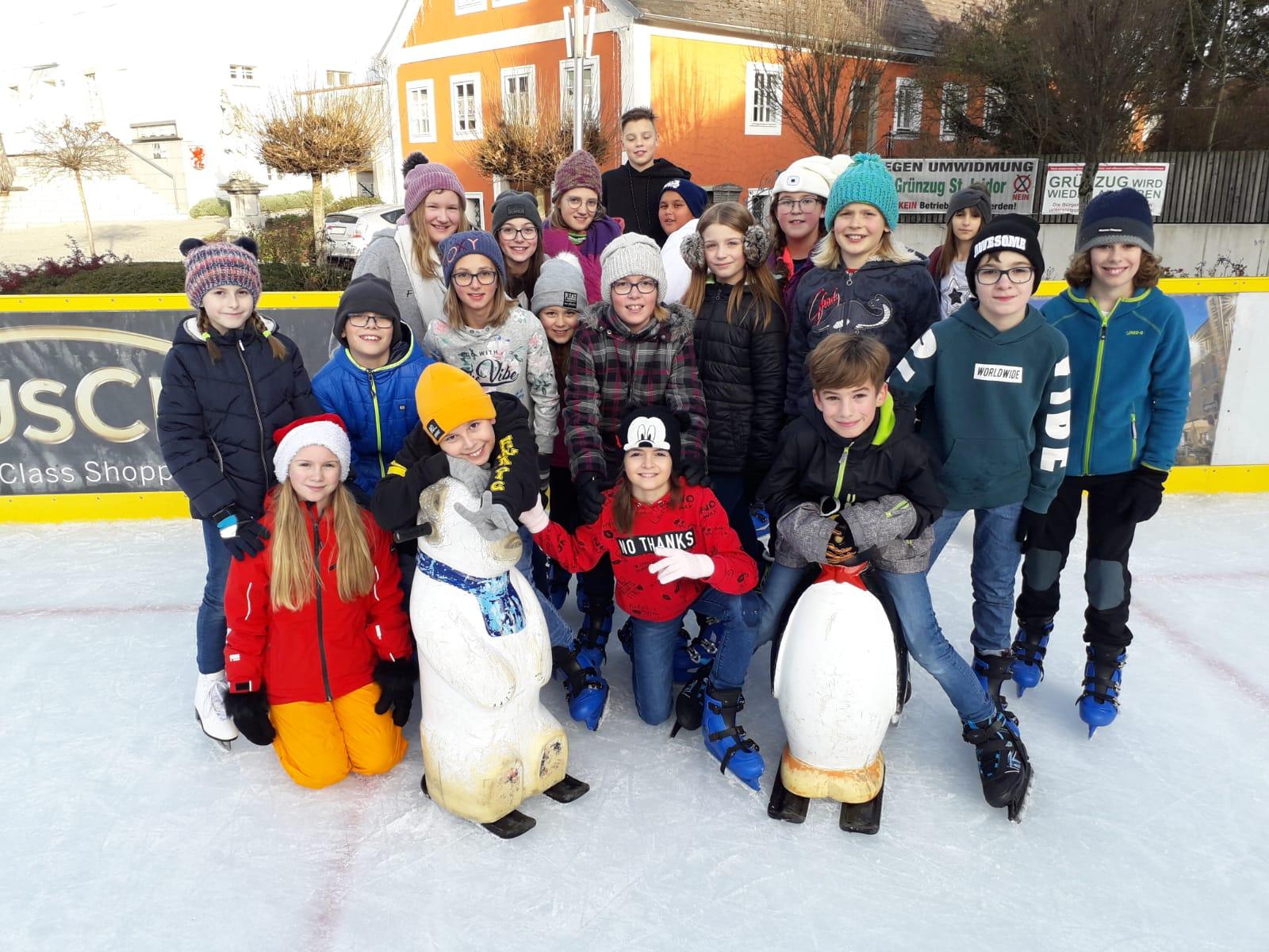 Eislaufen – 1c Klasse